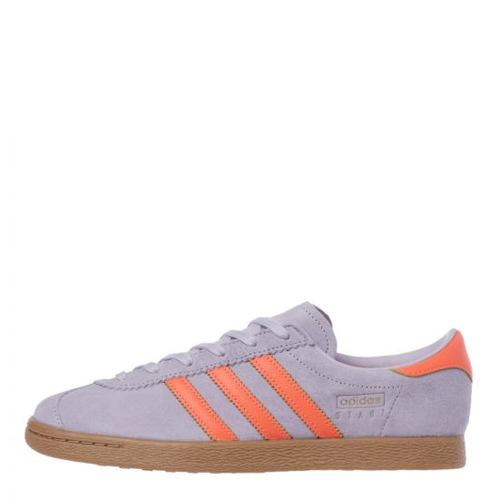 adidas Originals Stadt Trainers | EF5725 Purple / Orange