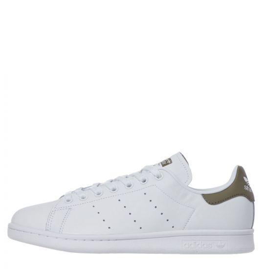 adidas Originals Stan Smith Trainers | EE5798 White / Trase Cargo