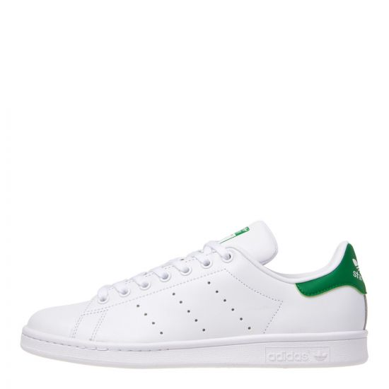 adidas Stan Smith Trainers White/Green M20324