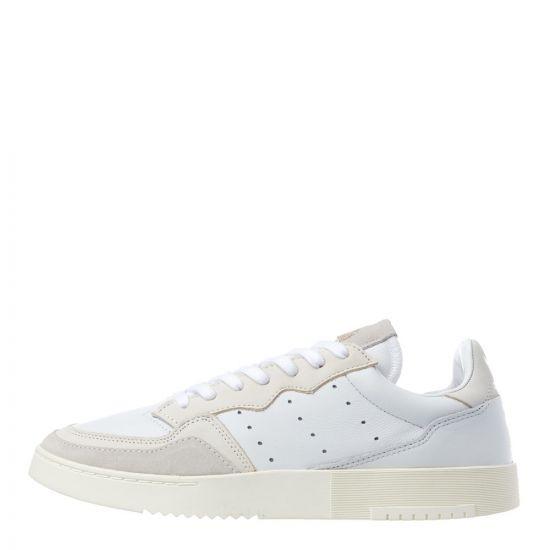 adidas Originals Supercourt Trainers EE6024 White / Off White