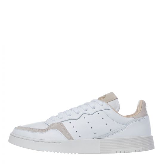 adidas Originals Supercourt Trainers | EE6034 Cloud White / Crystal White