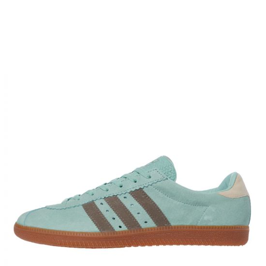 adidas padiham trainers FV9659 green / brown