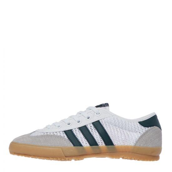 adidas tischtennis trainers FV9696 white / green