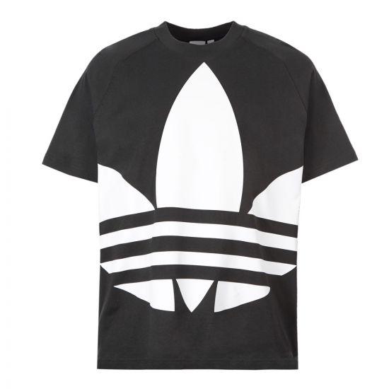 adidas T-Shirt Trefoil Logo - Black 21136CP 0