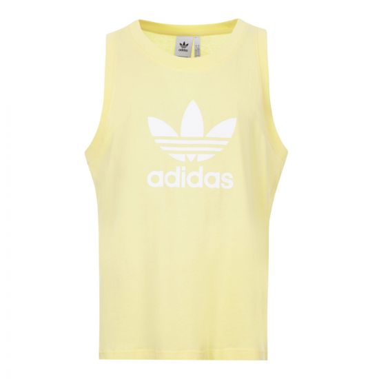 adidas vest trefoil FM9943 yellow