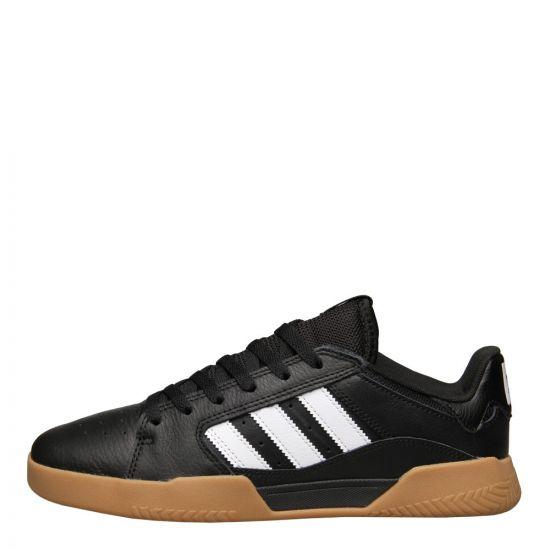 adidas VRX Low Trainers B41486 Black / Gum