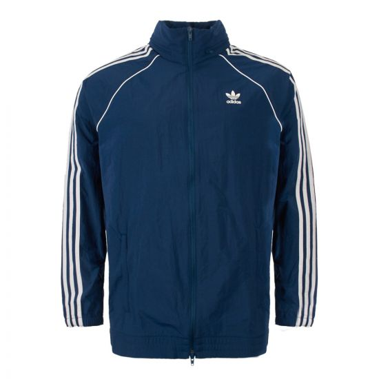 adidas windbreaker DV1582 blue