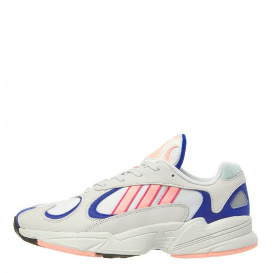 adidas Yung-1 Sneakers BD7654 White/Pink/Royal