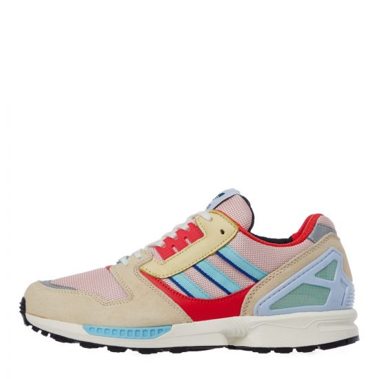 adidas zx 8000 trainers EF4367 yellow