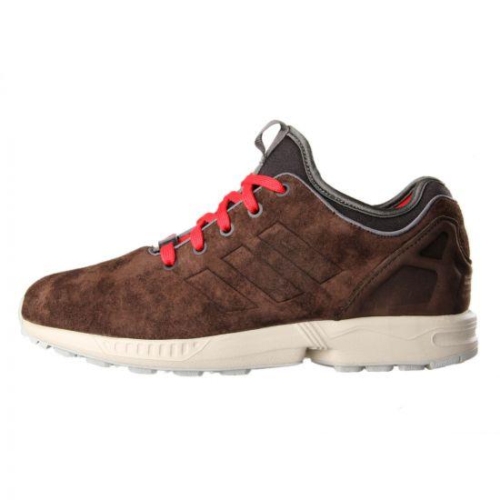 Adidas Originals ZX Flux NSP in Brown