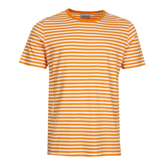 Albam Simple Stripe T-Shirt Beeswax 69ALM611124218