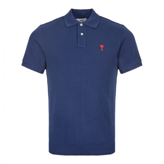 Polo Shirt - Navy Logo