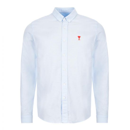 Ami Shirt Oxford  - Blue  21676CP 0