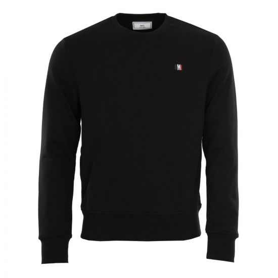 AMI Sweatshirt in Black BSRJ003.73