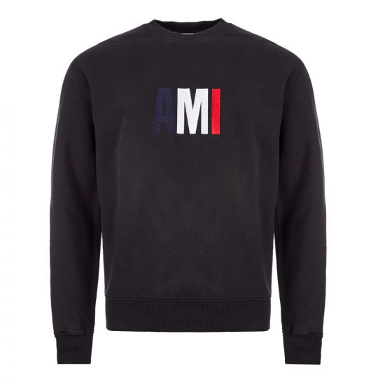 Ami Sweatshirt - Logo Black  21677CP 0