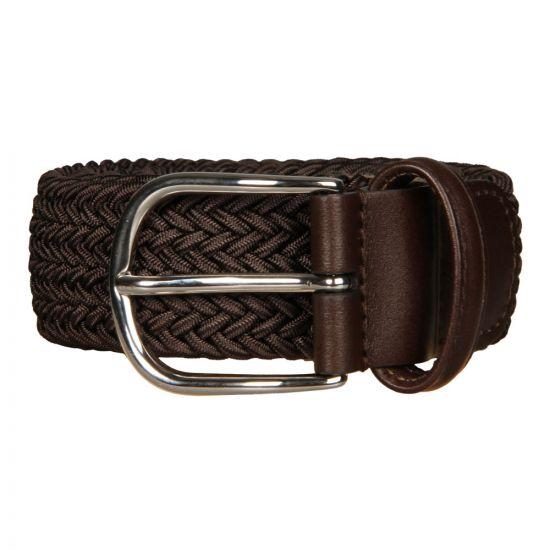 Anderson's Woven Belt BO667-AF2817-NE37-M1 in Brown