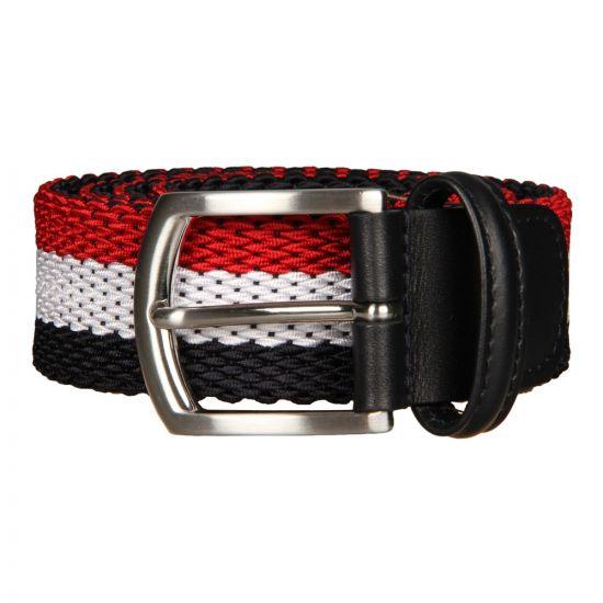 Andersons Woven Belt BO667-AF2620-NE53-12 Navy/Red/White