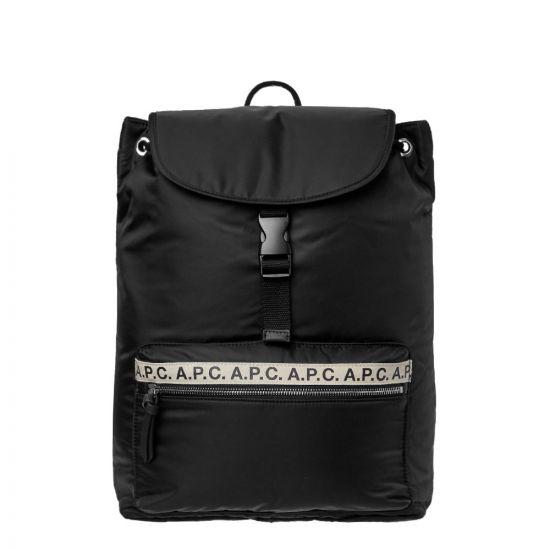APC Backpack | PAACL H62118 LZZ Black | Aphrodite Clothing