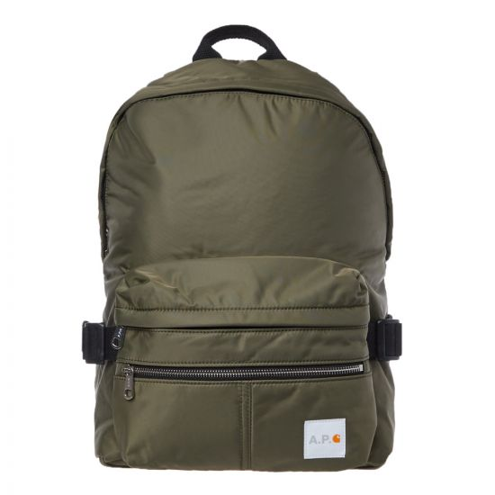 apc carhartt wip backpack PAACLM 62139 JAA khaki