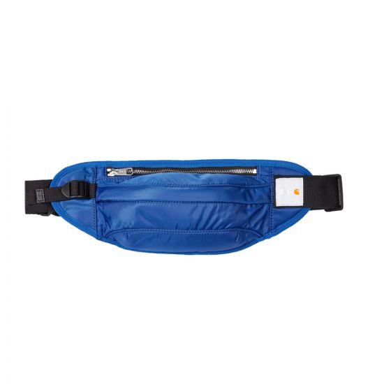 apc carhartt wip bumbag PAACL M62140 IAI royal blue