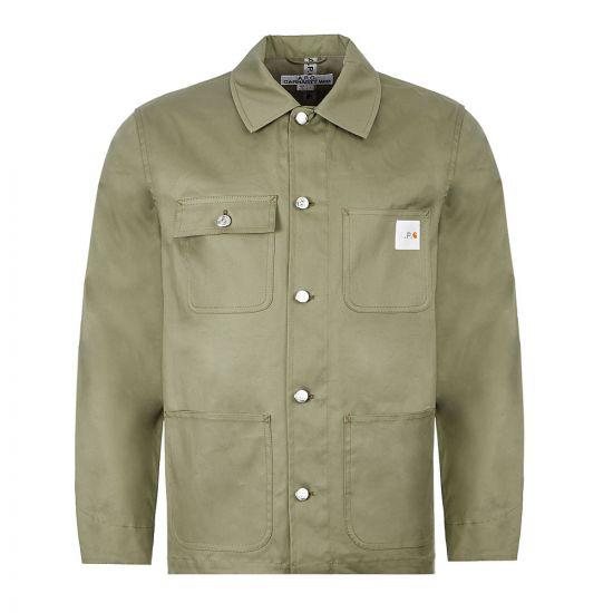 APC Carhartt WIP Jacket – Khaki 21597CP -1
