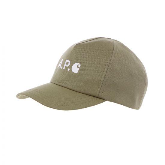APC Carhartt WIP Cap - Khaki 21588CP -1