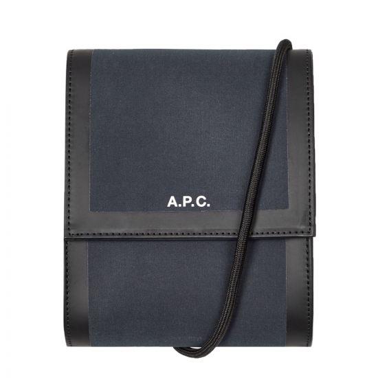 APC Crossbody Savile Bag - Dark Navy 21599CP -1