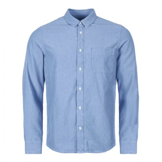 APC Shirt Georges COCWS H12391 IAL Blue