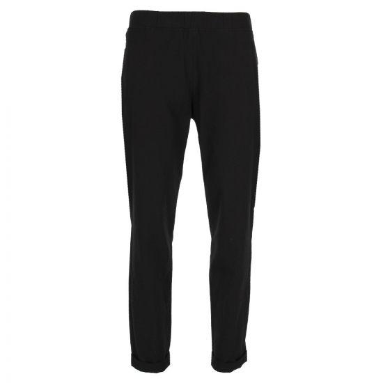 A.P.C. Rib Seersucker Trousers COCKM H08257 LZZ Black