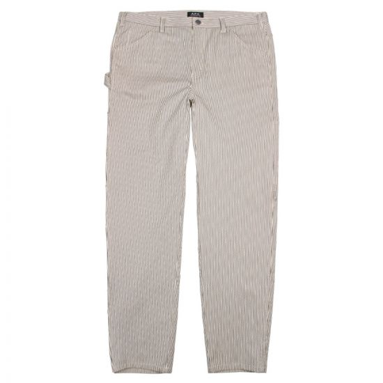 APC Trousers Job COCWI H08321 LAA Grey Stripe