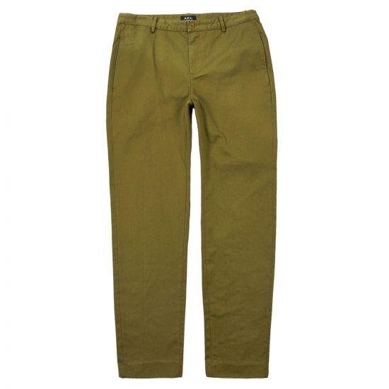 apc trousers quake COCWC H08297 JAA khaki