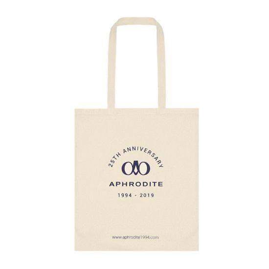 Aphrodite Tote Bag 25 Years ANNIVERSARY Beige