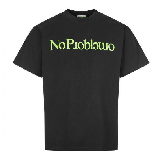 aries t-shirt no problemo FRAR6002 BLACK black