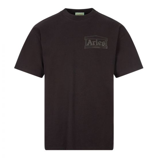 Aries Temple T-Shirt | FRAR600000Black | Aphrodite