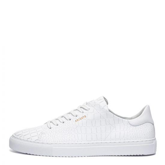 Axel Arigato Clean 90 Croc Trainers | 28613 White