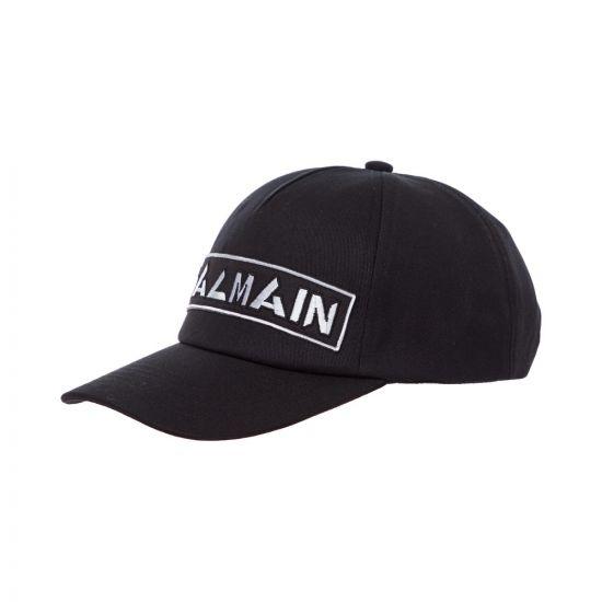Balmain Cap Logo SH1A044Z520 OPA Black