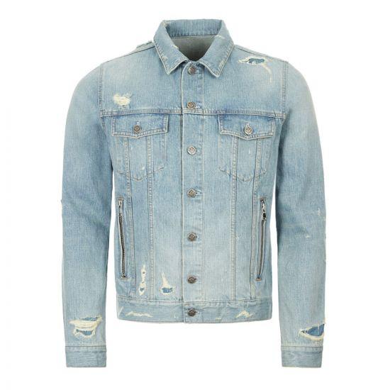 Balmain Denim Jacket - Blue 21398CP -1