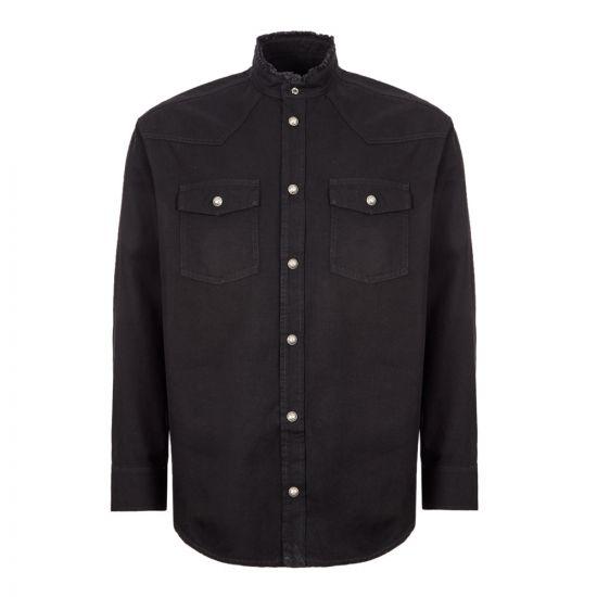 Balmain Shirt - Black 21180CP -1