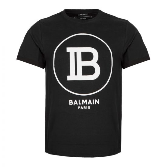 Balmain T Shirt SH01135 |207 0PA in Black from Aphrodite