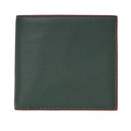 Balmain Wallet SM1M020LGGE Dark Green