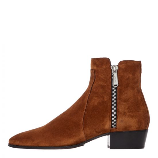 Balmain Ankle Boots SM1C134LCRY 8FD Tan Suede