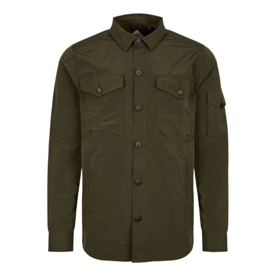 Barbour Beacon Askern Overshirt MOS0036 GN91 Green
