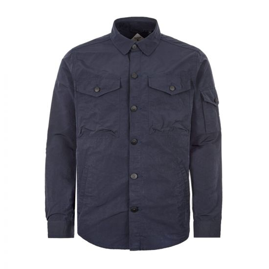 Barbour Beacon Overshirt Askern - Navy 21780CP -1