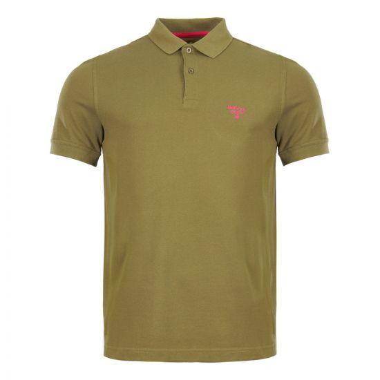 barbour beacon polo shirt MML0961 GN15 green