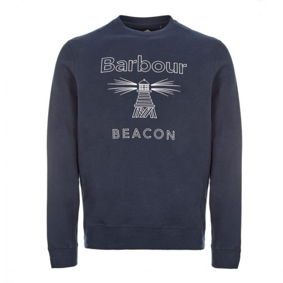 Barbour Sweatshirt - Navy 21524CP -2