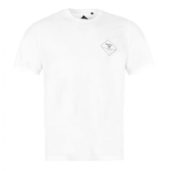 Barbour T-Shirt Beacon  - White 21512CP -1