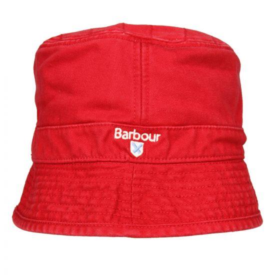 Barbour Hat Red Elbert Sports