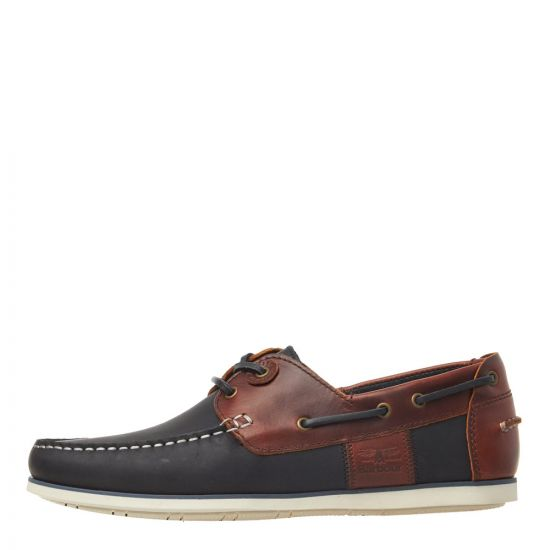 Barbour Boat Shoes Capstan MFO0304 NY71 Navy / Brown
