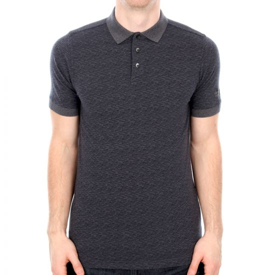 Barbour Dept. (B) Navy Dash Polo Shirt