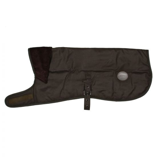 barbour wax dog coat UAC0130 OL71 olive
